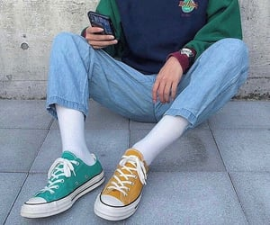asia, converse, and fashion inspiration image