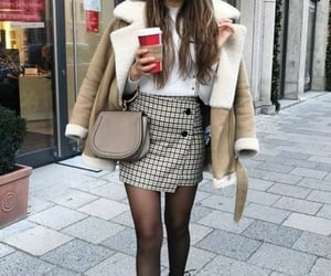 style, beige, and fashion image