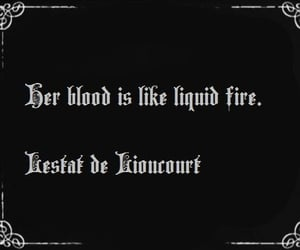 blood, fire, and girl image