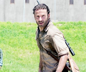 tv show, twd, and amc image