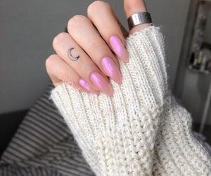 moon, ring, and nails image