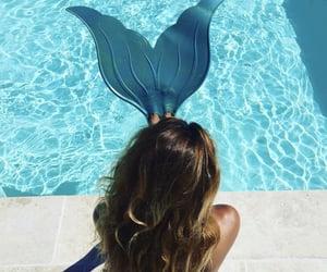 mermaid, mermaids, and sea image