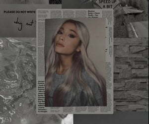 iphone, wallpaper, and ariana grande image