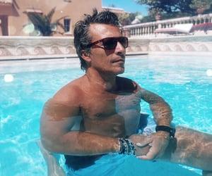 men, jewelry, and sunglasses image