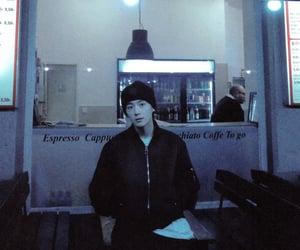 black and white, boyfriend, and hyunjae image