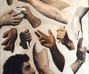 art, william bouguereau, and hands image