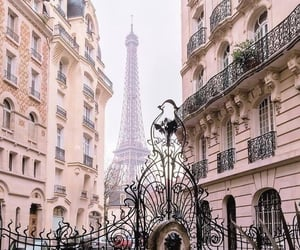 paris, architecture, and france image