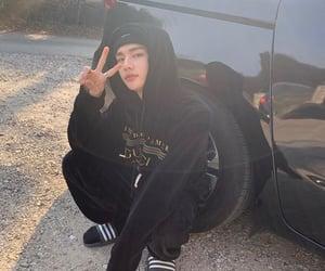 hyunjin, stray kids, and skz image