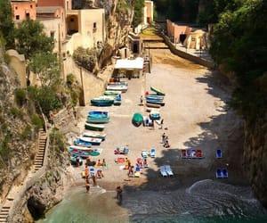 Amalfi coast, summer, and beach image