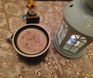coffee, فانوس, and lights image