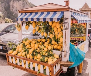 lemons, city, and fruit image