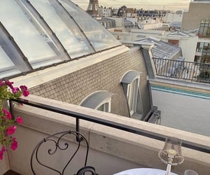 paris, view, and travel image