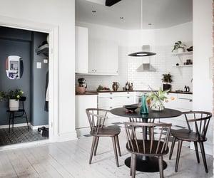 apartment, bricks, and design image