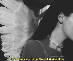 alone, angel, and single image