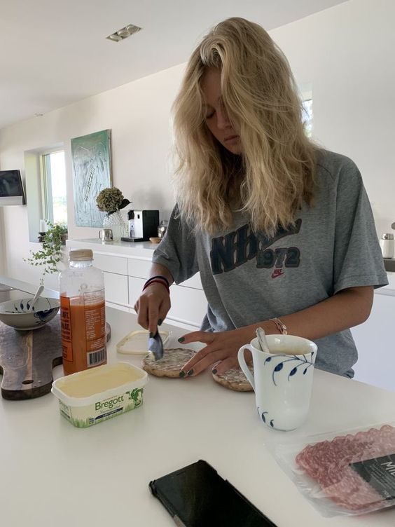 breakfast, food, and life image