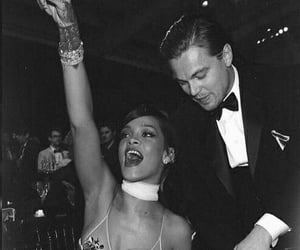 rihanna, leonardo dicaprio, and celebrity image