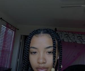 beauty, melanin, and natural hair image