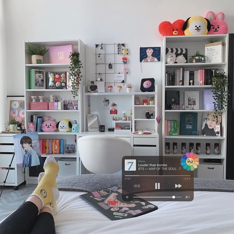 28 Images About Room Decor Ideas Some Bts Kpop Stuff On We Heart It See More About Room Bts And Aesthetic