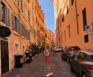 blonde, italy, and rome image