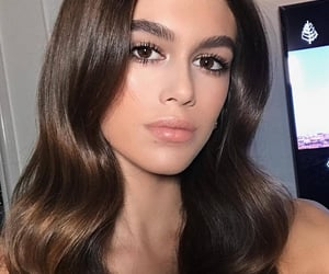 beauty, kaia gerber, and celebrity image