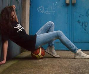 Basketball, girl, and photography image
