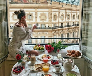 breakfast, cities, and FRUiTS image