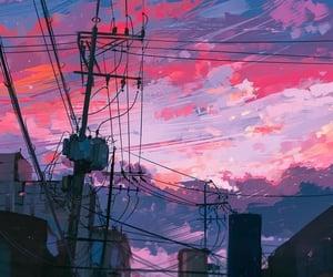 art, sky, and wallpaper image