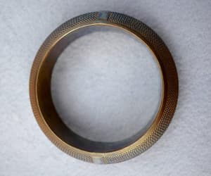 etsy, gift for her, and brass bracelet image
