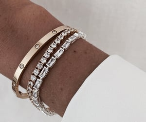 bracelet, accessories, and diamond image