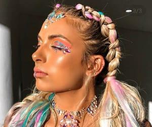 fashion, gems, and rainbow image