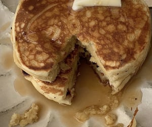 food, pancakes, and breakfast image