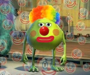 meme, reaction, and clown image