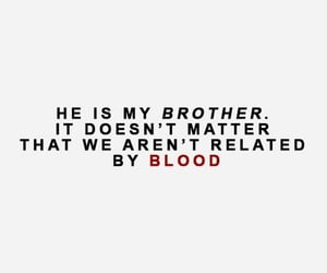 brothers, quotes, and family image