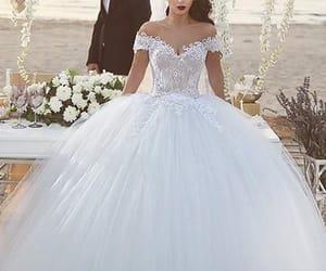 princess wedding dress, wedding ball gown, and 2021 wedding dresses image