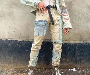avant garde, denim, and jeans image