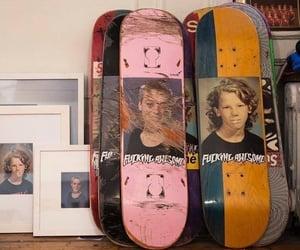 skateboard, grunge, and alternative image
