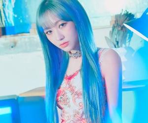 album, anime, and blue hair image