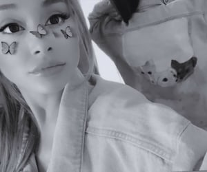 ariana grande and butterfly image