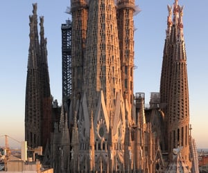 spain, aesthetic, and Barcelona image