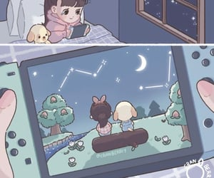 animal crossing, console, and gaming image