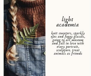 aesthetic and light academia image