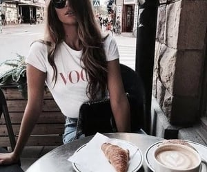 coffee, vougue, and fashion image
