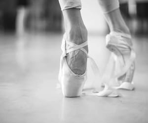 ballet, foot, and legs image