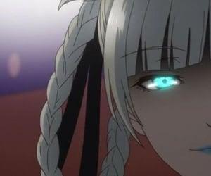 anime, blue, and kakegurui image