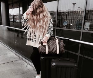 curly hair, hair, and Louis Vuitton image