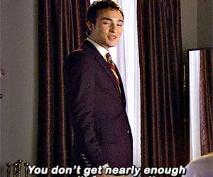 chuck bass, ed westwick, and gif image