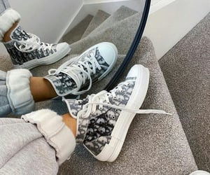 dior, sneakers, and style image