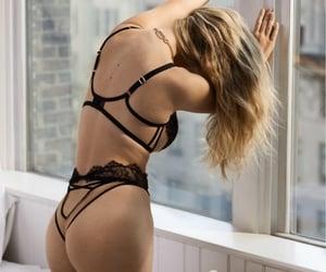agent provocateur, black lingerie, and Sexy Lingerie image