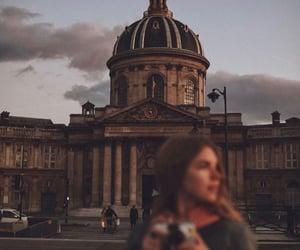 city, girl, and life image
