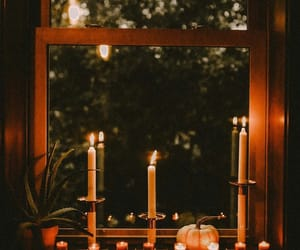 candle, cozy, and kids image